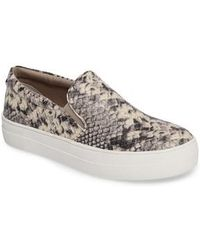 Steve Madden - Gills Platform Slip-on Sneaker - Lyst