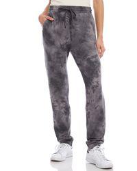 Karen Kane Tie Dye Sweatpants - Gray