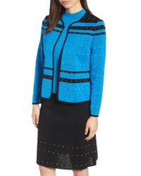 Ming Wang - Stripe Jacket - Lyst