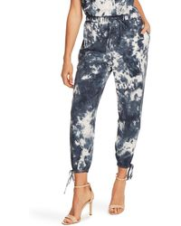 Vince Camuto - Tie Ankle Jogger Pants - Lyst
