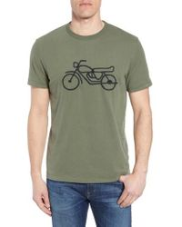 French Connection - Motorcycle Crewneck T-shirt - Lyst