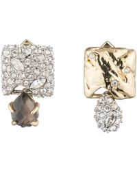 Alexis Bittar Mismatched Stud Earrings - Metallic