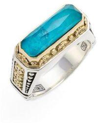 Konstantino - 'iliada' Etched Ring - Lyst