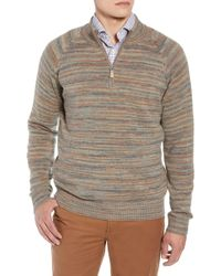 Peter Millar - Twisted Cashmere Quarter Zip Sweater - Lyst