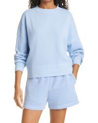Rails Alice Cotton Blend Sweatshirt - Blue