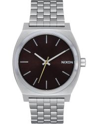 Nixon - The Time Teller Bracelet Watch - Lyst