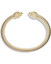David Yurman - Renaissance Bracelet In 18K Gold - Lyst