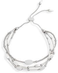Kendra Scott Chantal Slide Bracelet - Metallic