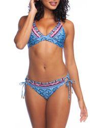 La Blanca - Triangle Bikini Top - Lyst
