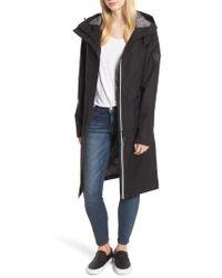 Nobis | Longline Hooded Raincoat | Lyst