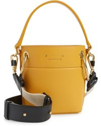 Chloé Bag Small Leather Bucket Lyst Roy 4LqjR35A