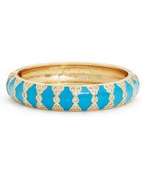 Sequin - Moorish Embellished Bangle - Lyst