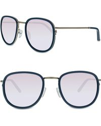 d3065456a7c Smoke X Mirrors - 51mm Sunglasses - Milky Grey  Silver Mirror - Lyst
