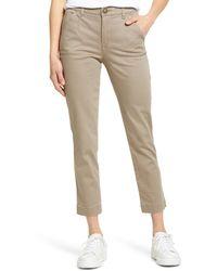 Wit & Wisdom Ab-solution Stretch Cotton Pants - Multicolour