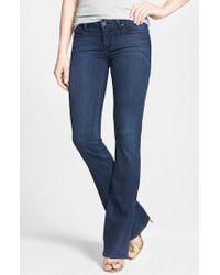 PAIGE - Transcend - Skyline Bootcut Jeans - Lyst