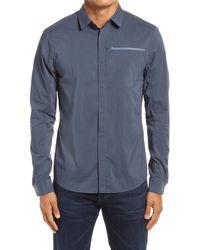 Arc'teryx Kaslo Snap-up Shirt - Blue