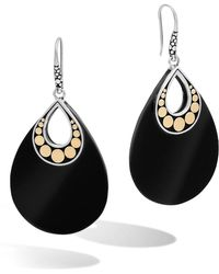 John Hardy - 'dot' Drop Earrings - Lyst