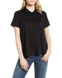 Eileen Fisher - Organic Linen Top - Lyst