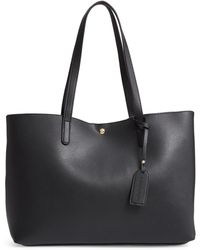 Sole Society - Zeda Faux Leather Tote - - Lyst