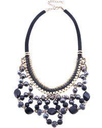 Nakamol - Crystal Loop Necklace - Lyst