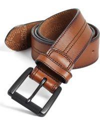Johnston & Murphy | Leather Belt | Lyst