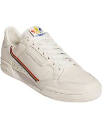 adidas Leather Continental 80 Pride Sneaker in White - Lyst