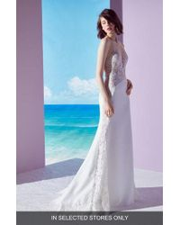 Ines by Ines Di Santo - Mischa Lace Panel Gown - Lyst