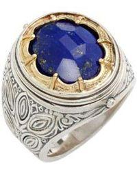 Konstantino - 'orpheus' Petal Set Semiprecious Stone Ring - Lyst