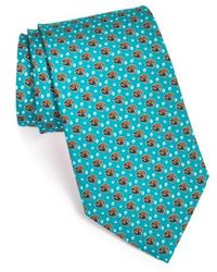 Vineyard Vines 'jacksonville Jaguars - Nfl' Woven Silk Tie - Blue