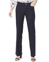 NYDJ Linen Pants - Black