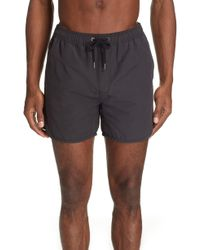 Ksubi Bowie Swim Trunks - Black