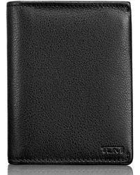 Tumi - Leather L-fold Wallet - - Lyst
