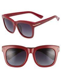 Privé Revaux - X Madelaine Petsch The Clique 52mm Square Sunglasses - Lyst