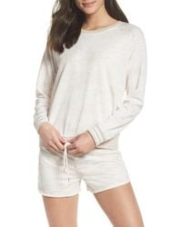 Honeydew Intimates - Burnout Lounge Sweatshirt - Lyst