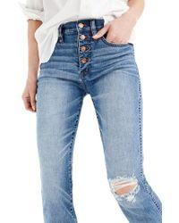 J.Crew | J.crew Vintage Straight Jeans | Lyst