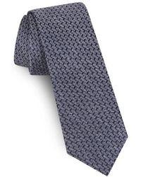 Ted Baker - Solid Silk & Linen Tie - Lyst