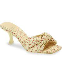 Jeffrey Campbell Bow Slide Sandal - Multicolour