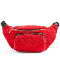 TOPSHOP Baxter Borg Belt Bag - Red