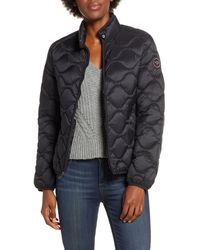 UGG Ugg Selda Packable Water Resistant Quilted Jacket, Black