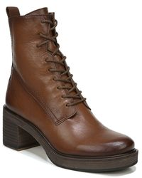 Sarto Patia Combat Boot - Brown