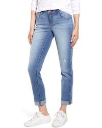 Wit & Wisdom Girlfriend Jeans - Blue