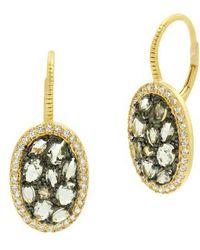 Freida Rothman - Rose Dor Stone Earrings - Lyst