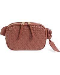 Sole Society - Ady Faux Leather Belt Bag - Lyst