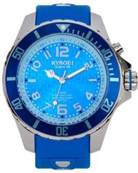 Kyboe - ! 'power' Silicone Strap Watch - Lyst