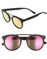DIFF - Astro 49mm Polarized Aviator Sunglasses - Lyst