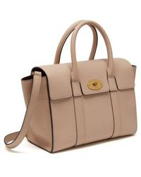 Mulberry - Small Bayswater Leather Satchel - Lyst