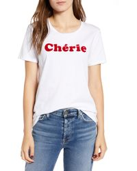 French Connection - Cherie Tee - Lyst