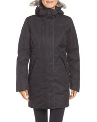 The North Face | Far Northern Waterproof Down Parka With Faux Fur Trim | Lyst