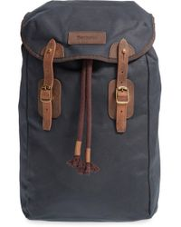 Barbour - Waxed Canvas Backpack - - Lyst