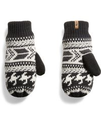The North Face - Fair Isle Mittens - Lyst